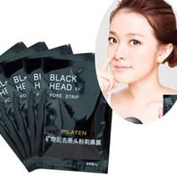 Wholesale black mud nose for sale - Group buy 100 PILATEN Face Care Nose Facial Blackhead Remover Mask Minerals Pore Cleanser Black Head EX Pore Strip Nose Mask