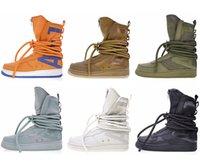 armas militares venda por atacado-Campo especial SF Forcing forças Botas Altas Esportes Calçados Esportivos Militares Armado Hip hop sapatos de grife ao ar livre Das Mulheres Dos Homens Sapatilhas casuais
