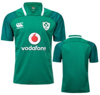 Wholesale irish men - 2017 2018 Ireland rugby Jerseys Irish IRFU NRL National Rugby League rugby shirt nrl jersey 17 18 Irishman shirts size:s-3xl