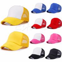 casquettes de baseball pour garçon achat en gros de-Bébé Garçon Filles Enfants Toddler Infant Hat Chapeau Baseball Béret Enfants Chapeau Chapeaux