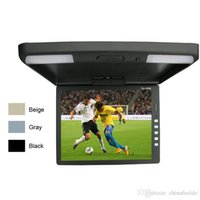 ingrosso bus lcd-Car Video 3-Color 13.3 pollici TFT LCD / auto Tetto LCD Monitor a scomparsa Monitor 2-Way ingresso video 12V # 1289