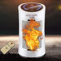 tragbare hausklimaanlagen großhandel-Tragbare Keramik-Raumheizung 1500W Mini einstellbar Thermostat Smart kleine Klimaanlage Mini Heizung für Office Home
