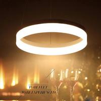 lamparas führte colgantes großhandel-Moderne Kronleuchter LED Pendelleuchten für Esszimmer lamparas colgantes pendientes hängende Dekoration Lampe Beleuchtung Pendelleuchte