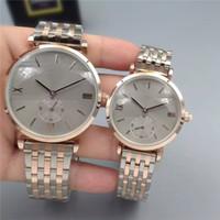 chaîne de montre mens achat en gros de-Classique Mode Style Femmes / Hommes Montre Lady Roman Nombre Montre-Bracelet Acier Bracelet Chaîne De Luxe amant Montre de Haute qualité pliage serrure