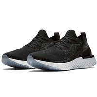 Wholesale comfortable running shoes for sale - 2018 Epic React Athletic Sneakers Running Shoes Instant Fly Breath Comfortable Sport Boost Mens Womens shoes