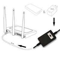 usb dc stromkabel groihandel-USB DC 5V zu DC 12V oder 9V Step Up Kabelmodul DC USB Power Boost Linie Step Up Modul Boost Converter Adapterkabel 1.5m