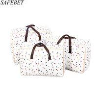 складной мешок руки оптовых-SAFEBET  Fashion Women Travel Bags Large Capacity Waterproof Organizer Man Foldable Portable Travel Hand Luggage Bag