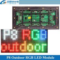 módulo al aire libre al por mayor-Módulo de pantalla LED a todo color P8 SMD3535 RGB a todo color 256 * 128 mm 32 * 16 píxeles