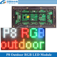 Wholesale outdoor full color display for sale - Group buy P8 Outdoor SMD3535 RGB Full Color LED Display Module mm pixels