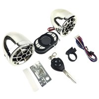 Discount motorcycle mp3 usb player - Motorcycle Bluetooth Mp3 Music Player Alarm Audio Radio Sound System Stereo Speakers Scooter Security Alarm USB Mobile Charge