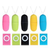 masturbation produkte großhandel-MP3 Wireless Control Sprung Ei Für Frauen Massage Sex Produkt Frequenz Schleifen Vibrierende Eier Masturbation Gerät