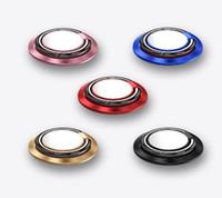 автомобильная ячейка оптовых-Держатель сотового телефона Держатель кольца палец металлический стенд 360 градусов вращающийся магнитный диск автомобиля творческий новый изобрести