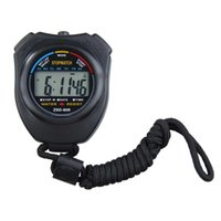 lcd для таймера оптовых-Waterproof Digital Timer LCD Stopwatch Electronic Timer Chronograph Hour Meter Counter Sports Stopwatch with Strap