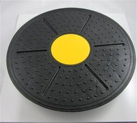 Wholesale bears board - Balance Board Fitness Equipment ABS Twist Boards Support Rotation For Twist Exerciser Load Bearing Color Random New 16xh dd