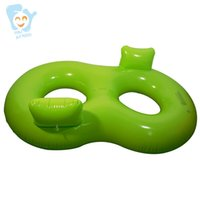 şişme oyuncaklar toptan satış-Erkek Kadın Şişme Çift Kişi Yüzmek Tüp Halka Ikiz Yetişkin Havuz Yüzen Havuz Eğlenceli Su Oyuncaklar Hava Longue