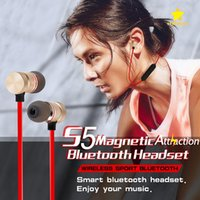 Wholesale Wireless Mp3 Headphones - For Iphone X 8 Plus Magnetic Bluetooth Sport Earphone Headphones Earphones Wireless Running Headset With Mic MP3 Earbud Stereo With Pack