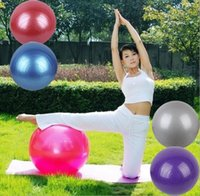 Wholesale 55cm fitness ball for sale - Group buy Health Fitness Yoga Ball Utility Anti slip Pilates Balance Yoga Balls Sport For Fitness Training balls gym workout ball