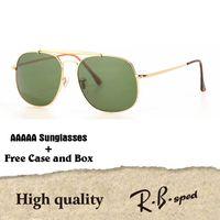 77f6221085 High Quality Metal Frame uv400 Glass Lenses Sunglasses Women Men Brand  Designer Eyewear Driving Sun Glasses with cases and box