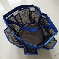 çamaşırhane çantası toptan satış-Yaratıcı Ev Saklama Sepetleri Çocuk Odası Oyuncaklar Depoları Çanta 8 Cep Yıkama Giyim Organizatör Çamaşır Net El Paketi Dayanıklı 0 5wx Y