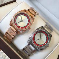 mariposa rosa al por mayor-2018 Top moda mujer reloj marca reloj pulsera Butterfly corchete de oro rosa reloj de pulsera libre del envío señora relojes populares reloj de pulsera