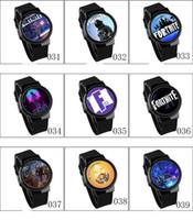 jogos adultos de qualidade venda por atacado-Novo Jogo Fortnite Relógio Dos Desenhos Animados New Fashion Teenage Party Relógios de Pulso relógios Eletrônicos Jóias para Crianças 63 Cores e Boa Qualidade