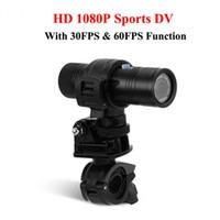 Wholesale outdoor car camera - Waterproof 8MP 1080P 170 Degree Lens HD Outdoor Sports Camera DV Digital Video Car Diving Recorder DV Bike Motorcycle Camcorder