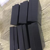 ambalaj damgası toptan satış-Lüks Damga Tasarımcı Mektubu C ile Mücevher Kutusu Takı Ambalaj Vitrinin Kutusu Kare Siyah Hızlı Kargo