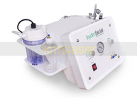 Wholesale oxygen jet machine - 3 In 1 Diamond Microdermabrasion Hydra Dermabrasion Oxygen Jet Peel Oxygen Spray Hydrafacial Water Aqua Dermabrasion Peeling Machine