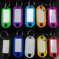 numéros d'étiquettes en plastique achat en gros de-Meilleur en plastique Tags clés Porte-clés Hôtel Numéroté Porte-clés Hommes Femmes Porte-clé Fournitures