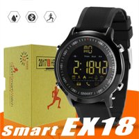 Wholesale bluetooth smart watch sport sms for sale – best EX18 Smart Watch Sport Smartwatch Pedometer Bluetooth Wristwatch Activity Tracker IP67 Waterproof Support Call and SMS alert for IOS Android