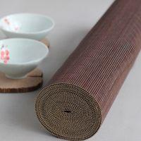 ingrosso runner bambù-Bamboo Table Runner Tovagliette per tovagliette Tovaglietta per tavoli Pad Decorazione per soffitti Home Cafe Restaurant Decoration