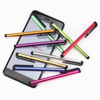 evrensel tablet toptan satış-Evrensel Kapasitif Stylus Dokunmatik Kalem iPhone samsung galaxy için iPad mini Tablet PC cep telefonu cep telefonu 1000 adet / grup