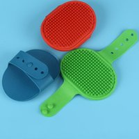 Wholesale quality pet products for sale - Group buy Adjustable Cat Dog Massager Resuable Easy To Use Pet Bath Brush Heathy Clean Grooming Bathbrushes Top Quality ad B