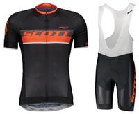 ciclismo bib set xs venda por atacado-2018 Hot Ciclismo Jersey Manga Curta e Ciclismo (bib) Shorts Road Bike wear SET Roupas de corrida Ciclismo B18082501 ciclismo