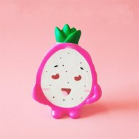 Wholesale gift simulation children for sale - Group buy Squishy Pitaya Decompression Toys Kawaii Simulation Fruits Squishies Soft Slow Rising Squeeze Toy Children Gifts ck C R