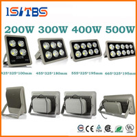 Wholesale Cob Floodlight - Led Floodlight 85-265V 200W 300W 400W 500W led Outdoor COB LED Flood light lamp waterproof Tunnel lights street lighting