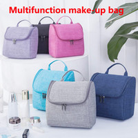 Wholesale make up bag hooks for sale - Group buy Multifunction make up bags Travel Makeup Bags Makeup Cosmetic Bags Skin care products Storage bag Cosmetic skin care kit Newest
