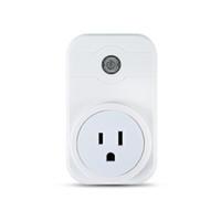 akıllı güç şeridi toptan satış-2018 Akıllı Güç Tak Portatif Şerit Adaptörü Mini Akıllı Wifi Soket Uzaktan Kumanda Akıllı Akıllı Cihaz AB İNGILTERE ABD Plug Ile CE FCC RoHS