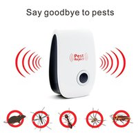 Wholesale Electronic Repeller Insects - Pest Control Ultrasonic Pest Repeller,Electronic Plug In repellent indoor for Insects, Mosquitoes, Mice, Spiders, Ants, Rats, Roaches, Bugs,