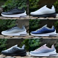 Wholesale outdoor axes - 2018 New Axis All Black White Ornage Cushion Sports Running Shoes for Mens Women Trainers Zapatillas Designer Chaussure Sneakers Size 36-45