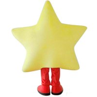 Wholesale deluxe mascot - 2018 High quality hot Deluxe Luxury Star Mascot Costume EVA with Fan Playground Carnival
