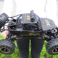 fırçasız motor hızı kontrolü toptan satış-Büyük 37 cm 1:12 Arabalar 4WD Mil Sürücü RC Kamyonlar Yüksek Hızlı Radyo Kontrol Fırçasız Alaşım Kamyon Ölçekli Oyuncaklar Çoc ...