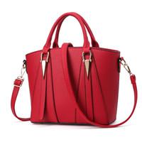 kırmızı mavi çanta toptan satış-MONNET CAUTHY kadın Çanta Klasik Zarif Bayanlar Eğlence Yeni Moda Çanta Katı Renk Şarap Kırmızı Mor Gri Siyah Mavi kılıf