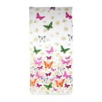 kapı perdeleri kelebek toptan satış-Toptan !! Romantik Kelebek Şeffaf Perdeler Tül 1x2 m Kanat Ve Kapı Sırf Perdeleri için