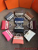 ingrosso nuove borse mini-Nuova borsa del corpo trasversale del mini della signora del cuoio genuino del progettista della borsa della donna di modo caldo di vendita trasporto libero