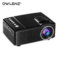 Wholesale Best Portable Led Projector - OWLENZ SD30 Mini Pocket Size Portable LED Projector Best Playmate Toy for Children as Gift Rechargeable Built-in 1000mAh Battery
