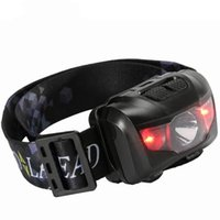 Wholesale headlamp waterproof red resale online - 5W White Red Light Headlamps Waterproof Fishing LED Headlights Super Light Easy For Carry Outdoor Sport Headlamp cr X