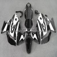carcaça corpo katana venda por atacado-23colors + 5Gifts + chamas brancas de ABS Carenagem Para Suzuki Katana 2003 2004 2005 2006 GSX600F 750F Body Kit painéis de motocicleta