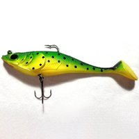 Wholesale soft swim bait online - 8 inch Big Game Fish with Hook Soft Baits Swimming Baits Fishing Lure Fishing Tackle