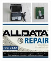 Wholesale repair software - newest alldata mitchell disk 1000gb auto repair installed in laptop cf19 touch screen diagnostic computer for car and truck